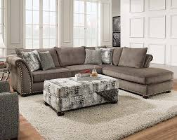 Slipcover Sectional Sofa by Furniture Sophisticated Impressive Brown Fabric Slipcovered