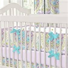 pale pink and gold chevron crib bumper carousel designs