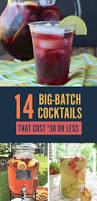 Totally Awesome Party Punch Ideas 14 Big Batch Cocktails For Summer That Cost 30 Or Less Summer