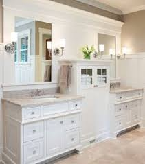 The Basement Classic White Bathrooms White Bathrooms And - White cabinets master bathroom