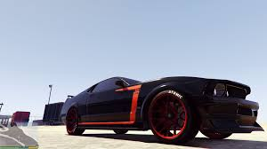 Mustang Boss 302 Black And Red Mustang Boss 302 Livery And Interior For Dominator Gta5 Mods Com
