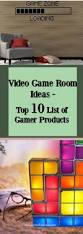 video game room ideas top 10 list of gamer products