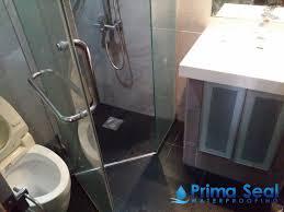 master bathroom waterproofing condo the mayfair jurong east