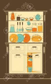 open kitchen cabinet clipart clipartxtras