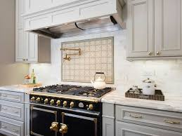 kitchen pot filler faucets eclectic kitchen with one wall pot filler faucet in san