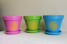 Painting Garden Pots Ideas To Seal Painted Flower Pots