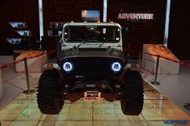 mahindra jeep thar 2016 2016 auto expo this modified mahindra thar looks like an ill