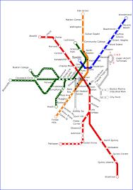 Metro Boston Map by Boston Metro Map World Easy Guides