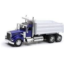 build your own kenworth truck 1 32 scale die cast kenworth w900 dump truck walmart com