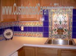 ceramic tile store full service hand painted motifs on tiles