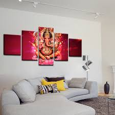 home decor wall okhotcn home decor wall cadre salon gravures hd 5 pi礙ces inde