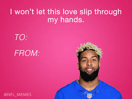 Valentines Day Meme Card - here s this year s batch of hilarious nfl valentine s day cards
