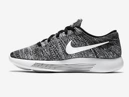 Nike Oreo nike lunarepic flyknit low oreo unisex black white shoes 843764 001