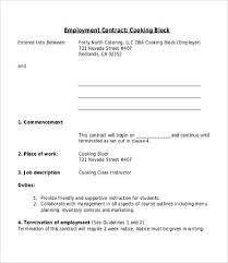 employee contract template 9 free word pdf documents download