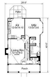floor plans for narrow lots country appeal for a small lot 57027ha architectural designs