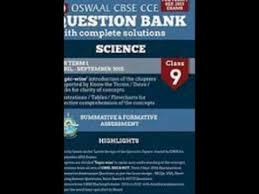 oswaal cbse cce question bank with complete solutions for class 9