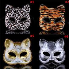 masquerade party masks charm women masquerade party painting cat mask masks