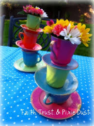 decorate your own tea cup best 25 teacup centerpieces ideas on tea party