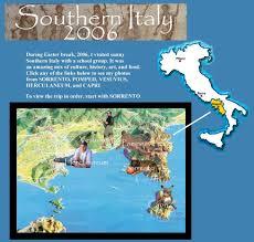 Capri Italy Map by Georgenick U0027s Pompeii Page Sorrento Pompeii Capri Vesuvius
