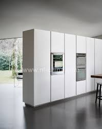 simple modern home furniture white lacquer commercial kitchen