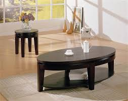 Wood Oval Coffee Table - pretty coffee tables glass wooden ikea solid wood oval table