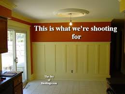 Wainscoting Shaker Style How To Install Tall Wainscoting 100 For About 10 33 Ft The Joy