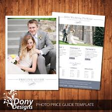 photography pricing template wedding pricing guide template