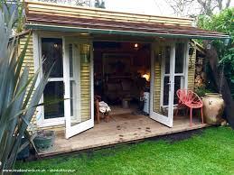 Summer House For Small Garden - lewisham pallet shed cabin summer house from end of small garden