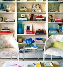 how to decorate a bookshelf hannah parker home