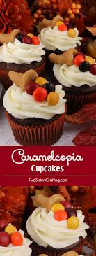 thanksgiving caramelcopia cupcakes two crafting