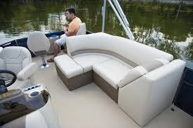 Vinyl Decking For Boats by Crest I Fish 220 Sf Crest Pontoon