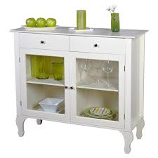 table with glass doors antique white sideboard buffet console table with glass doors