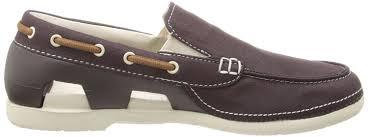 Kitchen Shoes by Crocs Discounts Crocs Beach Line Men U0027s Boat Shoes Espresso Stucco
