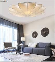 online shop jax silk fabric shade modern livingroom ceilinglight
