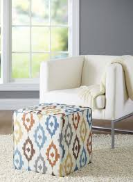 pouf ottoman u2013 how to incorporate it in the home decor