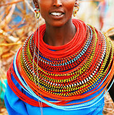 african women necklace images African woman with traditional accessories photograph by anna om jpg