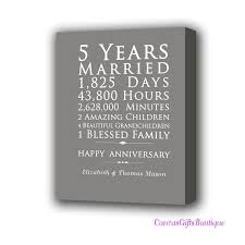 5th year wedding anniversary the 25 best 5th year anniversary gift ideas on gift
