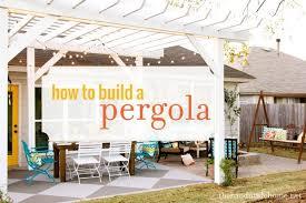 Pre Built Pergolas by How To Build A Pergola Diy Plans And Kits