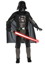child deluxe dark side darth vader costume kids star wars