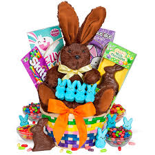 easter bunny baskets classic easter bunny gift basket by gourmetgiftbaskets