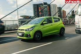 holden hatchback 2017 holden spark review