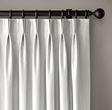 Curtain Hooks Pinch Pleat Pinch Pleat Curtains With Buttons Refashioning Rod Pinch Pleat