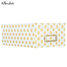 polka dot boxes white gold foil polka dot photo storage box ms classroom decor