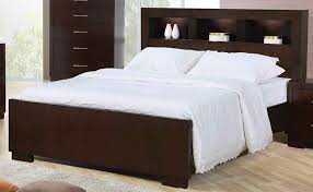 king bed frame with headboard wood modern king beds design