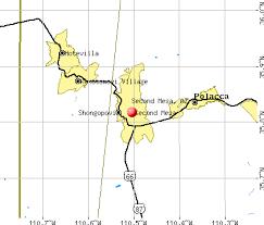 mesa az map second mesa arizona az 86043 profile population maps