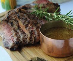 fraiser cuisine grilled flank steak with s sauce recipe finecooking