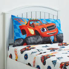 Monster Truck Bed Set Nickelodeon Blaze And The Monster Machines Sheet Set Home Bed