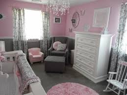 Pink And Grey Girls Bedroom The Pretty Pink And Gray Princess Nursery That We Decorated For