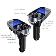 victsing t11 bluetooth fm transmitter upgraded version 120