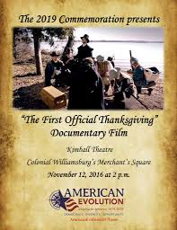 the official thanksgiving documentary showing virginia
